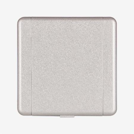 Zentralstaubsauger Metall-Saugdose Eurostyle ES 1-3er Set`s Weiß